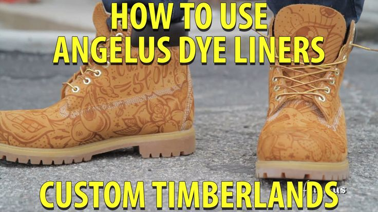Angelus Dye Liners | How to draw designs