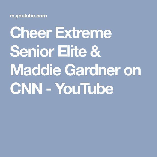 Cheer Extreme Senior Elite & Maddie Gardner on CNN - YouTube