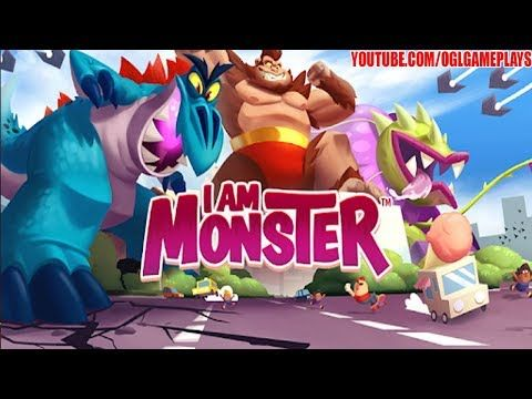 I Am Monster Idle Destruction By Pikpok Android Ios Gameplay