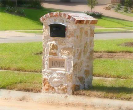 brick and stone mailboxes | Brick And Stone Mailbox