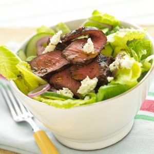 Lean Beef  In addition to being a quality protein source, beef is high in iron, an especially important element for runners. (Iron deficiency can lead to fatigue.) For vegetarians, beans, peas, green leafy vegetables, and iron-fortified cereals are good sources of iron.