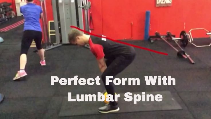 A simple way to learn the Deadlift to improve hip mobility and low back ...
