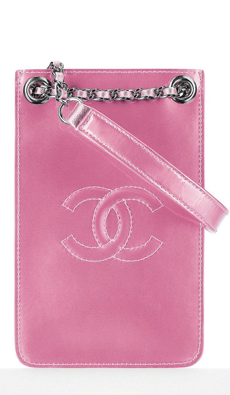 Chanel phone holder