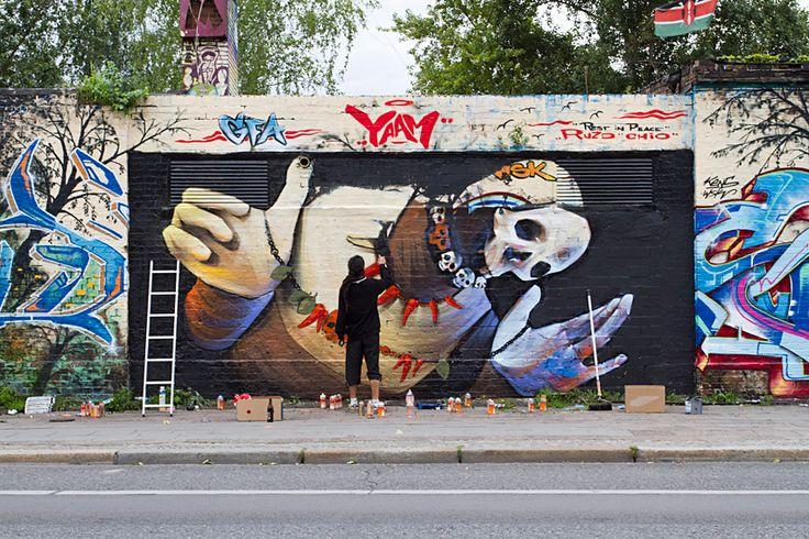 INTI New Mural In Berlin, Germany