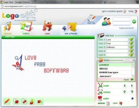 Free Logo Design Software https://www.domainki.com