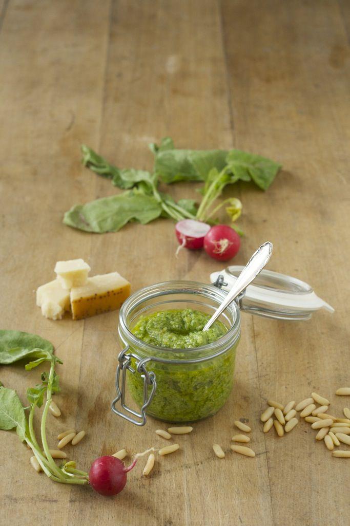 Radieschenblätter #Pesto #Kräuter #Kochen