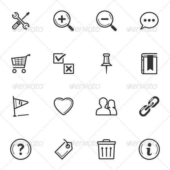 Web Icons-Set 2