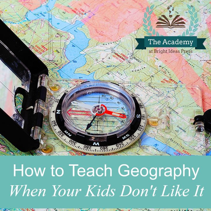 How to teach geography when your kids