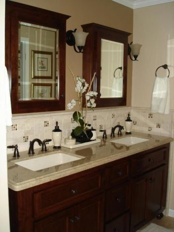 Bathroom Backsplash Beauties