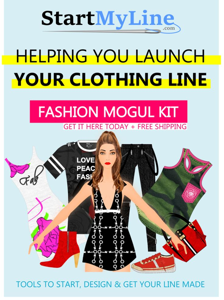39 best how to start a clothing line images on pinterest How to design clothes for manufacturing