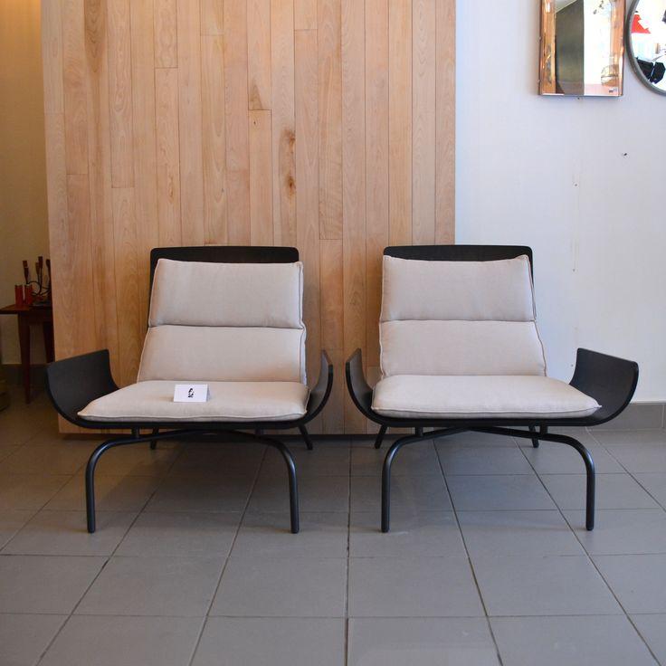 Mid-Century Modern - Duo de fauteuils Porada