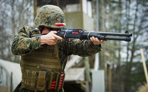 Smoking Gun | (U.S. Marine Corps photo by Staff Sgt. Ezekiel R. Kitandwe/Released)