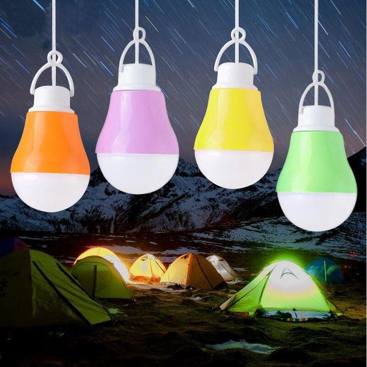 Bombilla LED Lámpara USB Luz Portátil Luz de La Noche 5 V DC 5 W Luz de Trabajo Con El Banco De Potencia Portátil Para Acampar led