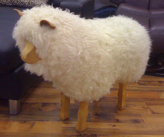 The 59 Best Animal Footstools Images On Pinterest Sheep