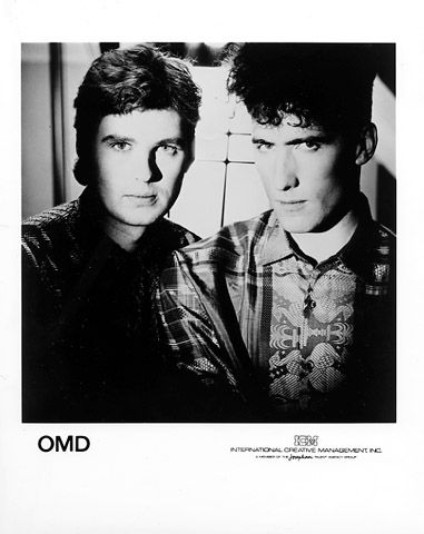 Orchestral Manoeuvres in the Dark (OMD) are a British new wave group formed in 1978, whose founding members, Andy McCluskey (vocals, bass guitar) and Paul Humphreys (keyboards, vocals), are originally from Wirral, England.
