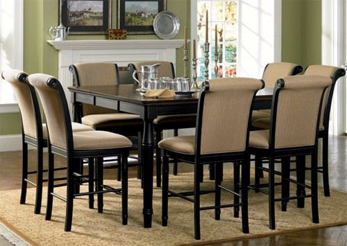 Casual square dining table for 8 - I would want it in white