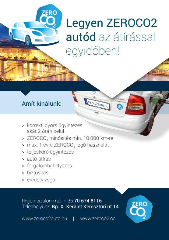 Válaszd a Fenntarthatóbb autózás élményét!!! http://zeroco2auto.hu/