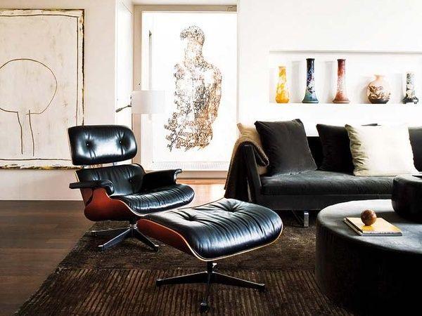 Abstrakte Kunst Und Chill Sessel   Alte Und Neue Möbel Kombiniert: Https://  · Eames Lounge ...