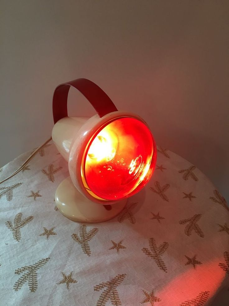 Lampe Infraphil Philips Ancienne Luminotherapie Rouge Rare | eBay