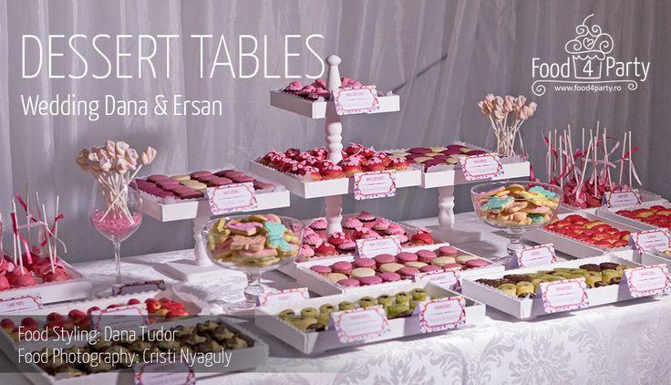 Dessert Table Wedding Dana si Ersan