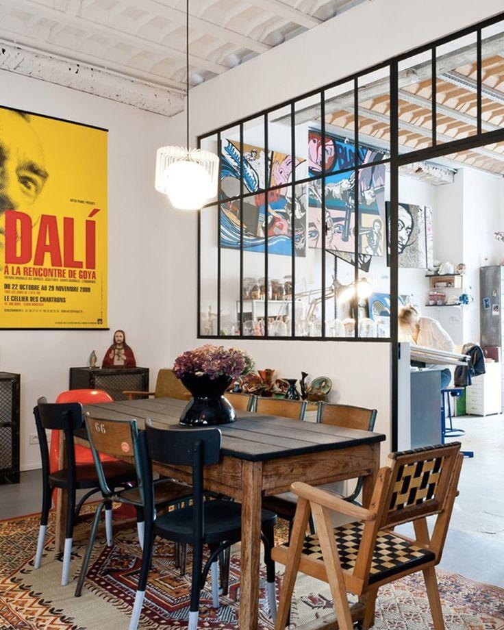 17 best ideas about industrial salon design on pinterest. Black Bedroom Furniture Sets. Home Design Ideas