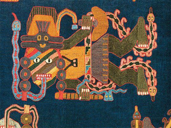 Paracas textile (Pre-Incan Peru)