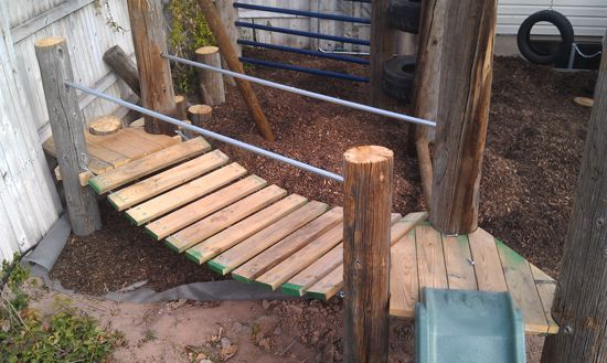 Wobble Bridge My Outdoor Diy Projects Pinterest Fun