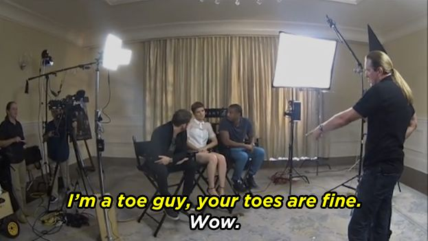 "The ""Fantastic Four"" Cast Perfectly Handled These Incredibly Offensive Questions"
