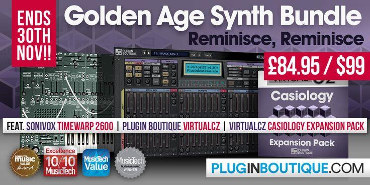 Golden Age Synth Bundle: TimewARP2600, VirtualCZ & Casiology Expansion