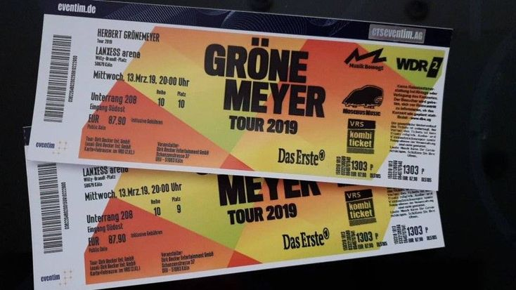 Herbert Grönemeyer Köln Tickets