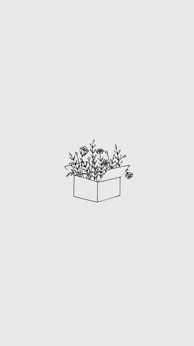 Wallpaper Phone Iphone Android Simple Aesthetic Pretty Leaves Nature L Minimalist Wallpaper Iphone Wallpaper Tumblr Aesthetic Simple Iphone Wallpaper