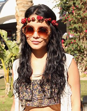 festival hairstyles | flowered braid  For #hairstyles & advice visit us   WWW.UKHAIRDRESSERS.COM