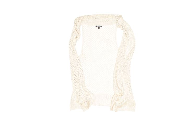 Maxim Cream Sleevless Knitwear