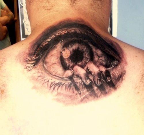 Eye Tattoos Design for Men (12)