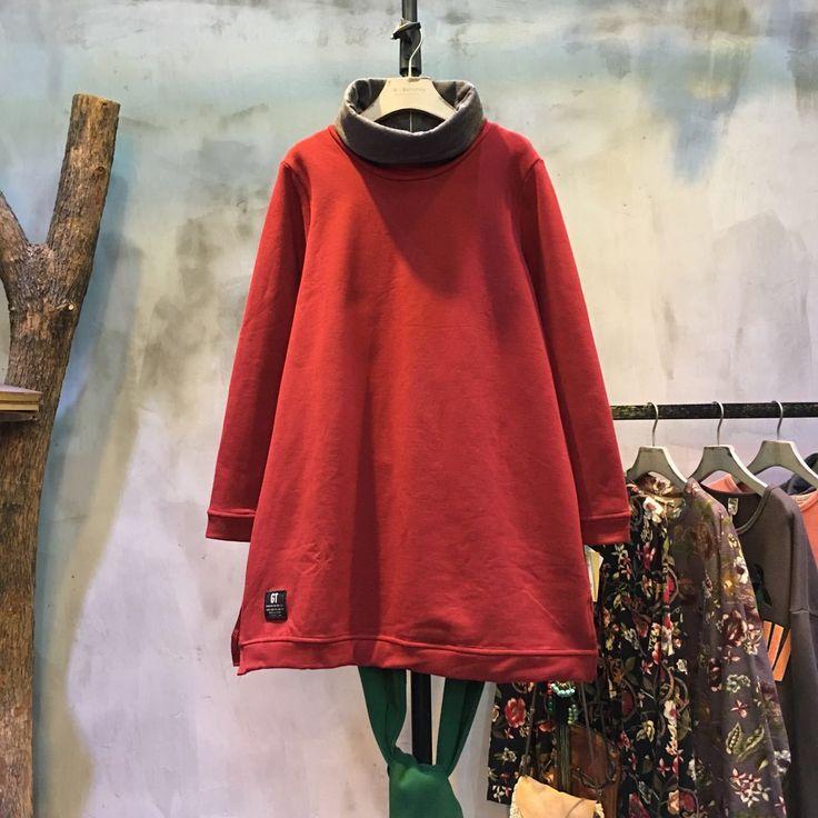 Low-Cost Turtle Neck Plain Base Shirt Loose Cotton Cheap T-shirt