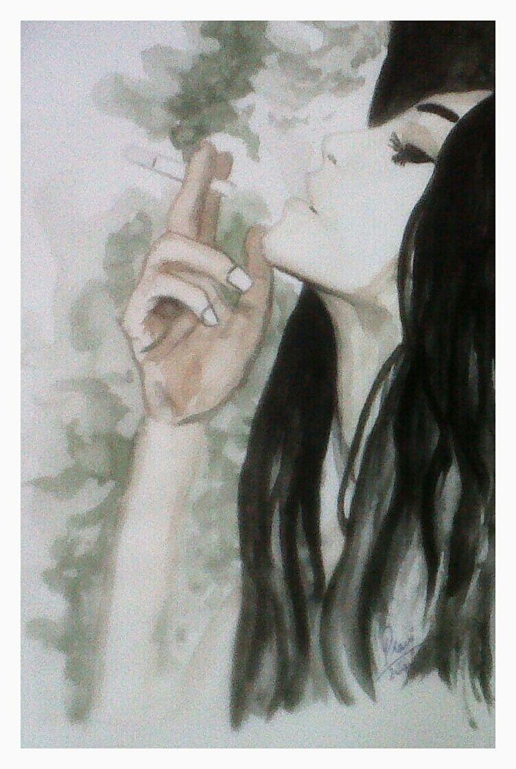 Painting- Smoke away