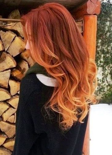 25 best ideas about auburn ombre on pinterest copper ombre copper hair and auburn balayage. Black Bedroom Furniture Sets. Home Design Ideas