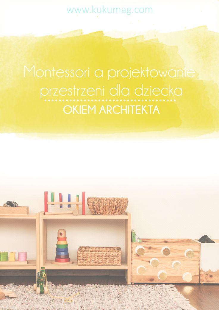 Niewielu rodziców wie, że pedagogika Montessori i dobrze urządzony pokój dziecka może wspierać jego rozwój. Czym jest Montessori i jaki ma wpływ na dziecko oraz jakie jest powiązanie z projektowaniem przestrzeni dla niego- odpowiedzi znajdziecie w tym poście. Zapraszam ! http://kukumag.com/montessori-a-projektowanie-przestrzeni-dla-dziecka/
