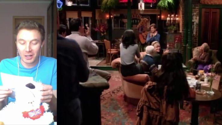 Сцена 81+L Как учить английский по фильмам. Сериал Друзья Friends. Дэвид...
