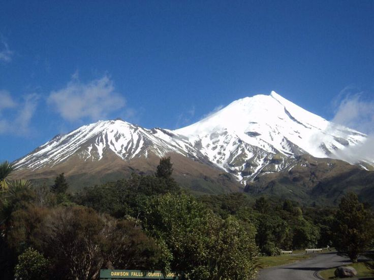Mount Terinaki, New Zealand North Island