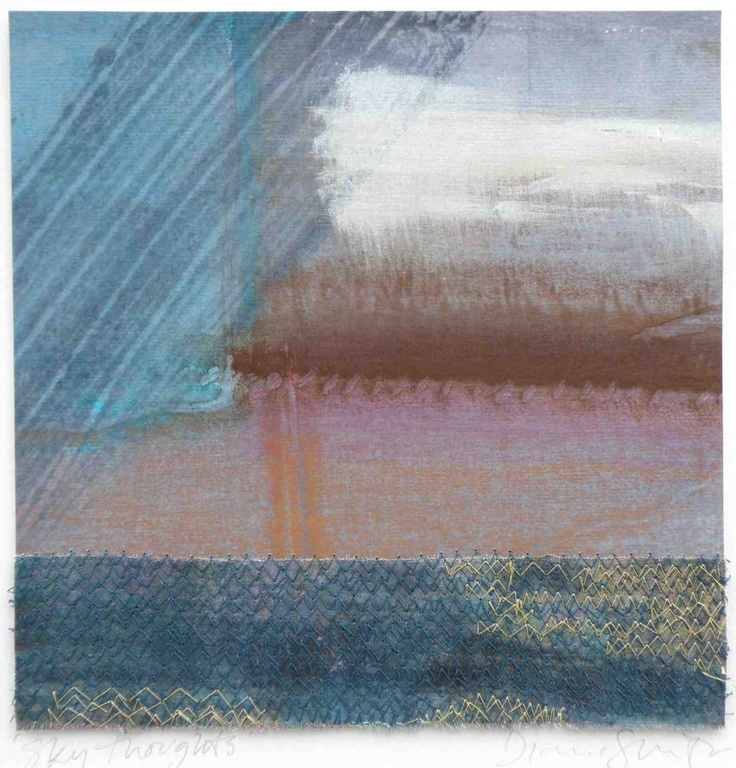 Sky Thoughts | | Dionne Swift : Textile Artist