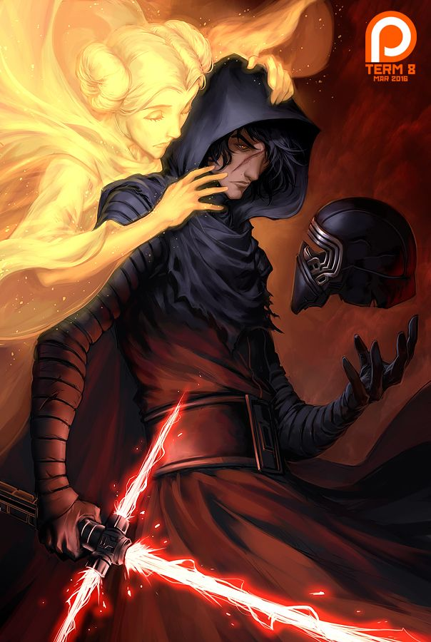 Cool Art: Kylo Ren by Drake Tsui | Live for Films