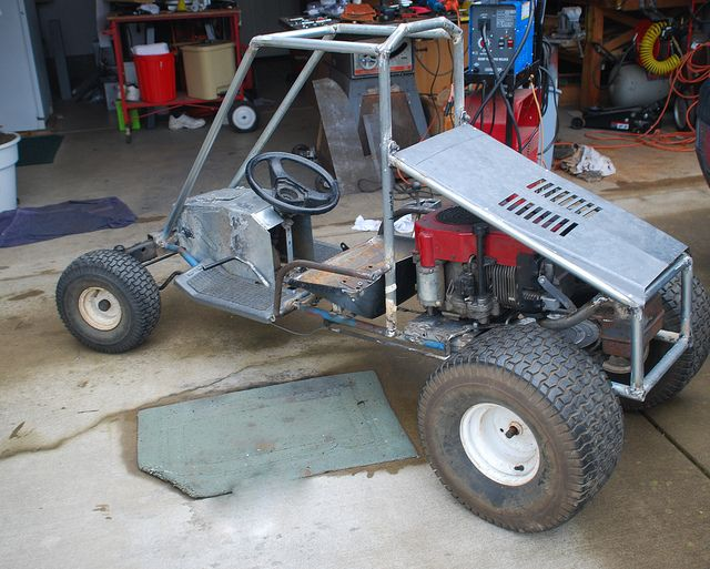 how to make a go kart without welding