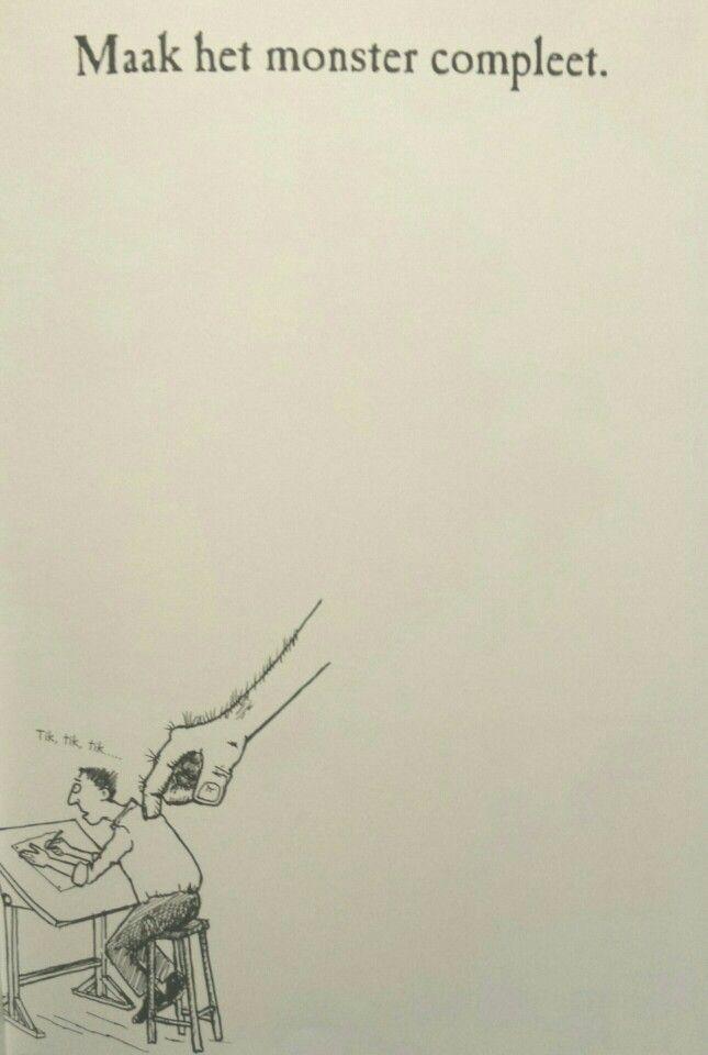 Begeleide of zelfstandige activiteit - Tekenboek monster