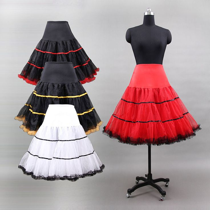 Hot Koop Fashion Volwassen Meisjes Pettiskirt Womens Fluffy Wedding petticoat…