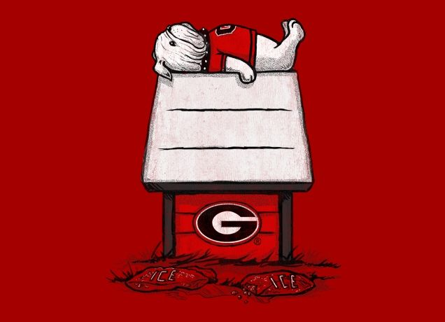 This makes me wish I was a Georgia fan-- or more like, I wish they would replace this design with Bucky (and a big beautiful W) and then I would buy one for everyone I know