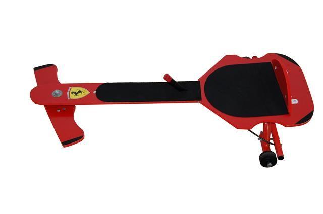 Foto 1 - Carrinho de rolimã com freio e rolamento importado