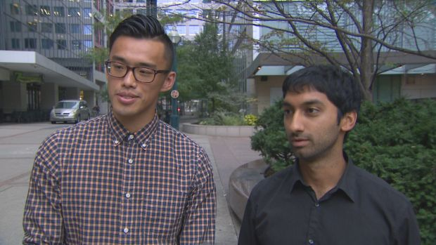 Two Humber college students, Greg Kung and Amir Allana, launched a petition highlighting the impact of a looming college strike on students.