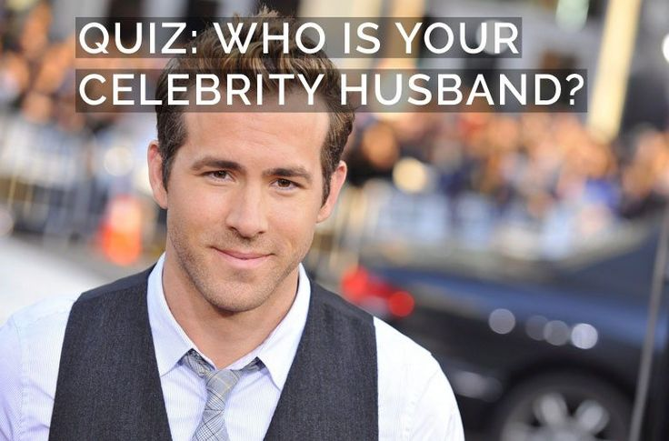 Quiz Find Out Who S Your Celebrity Husband Pink Book Celebrity Quiz Celebrity Quizzes Quiz