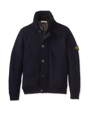 30% OFF Stone Island Kid's Twofer Jacket (Blue)
